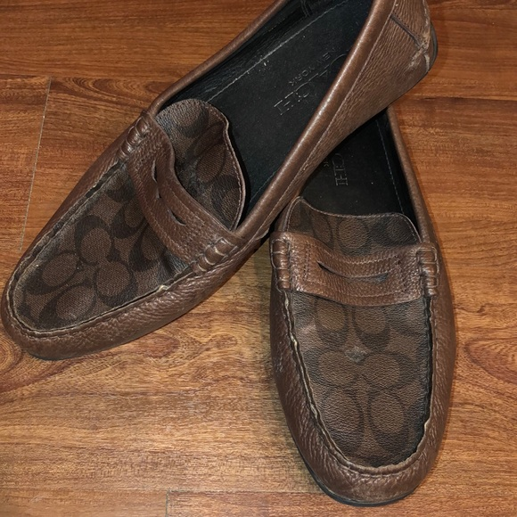 bad8172bc25 Brown Coach Men s Loafers